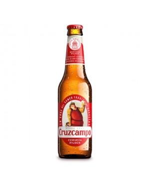 Bière Cruz Campo x25cL