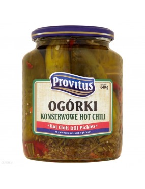 Ogórki Konserwowe Hot Chili...