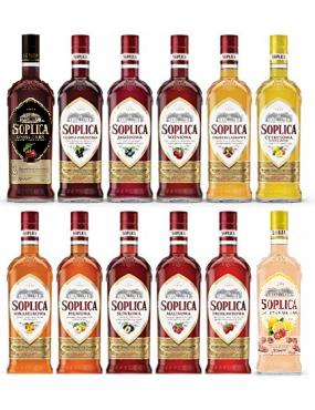Vodka Aromatisées 500mL -...